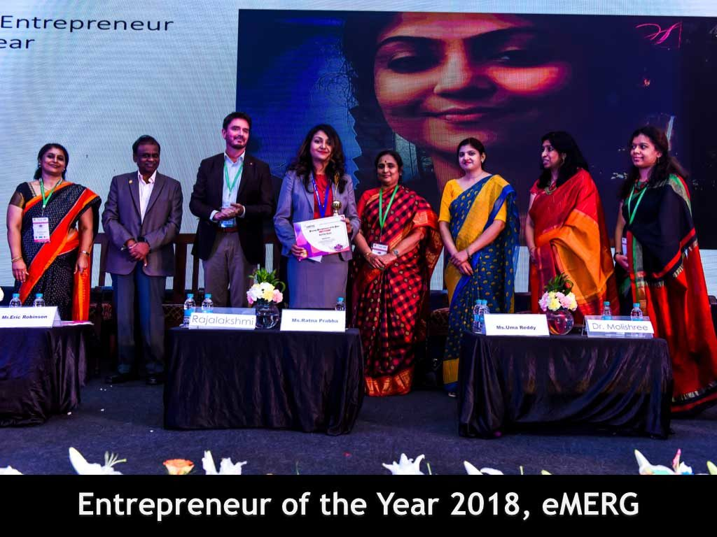 Entrepreneur of the year 2018 eMERG